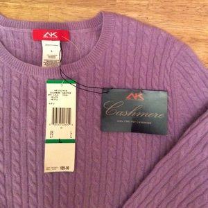 Anne Klein cashmere sweater
